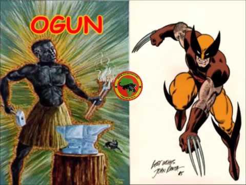 X Men description are base on Black African deities!      DR  UMAR JOHNSON