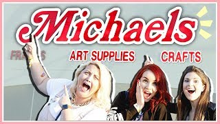 European Girls Lose Their Minds At Michaels! Ft. SoCraftastic & HollyOfAllTrades