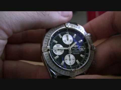 Breitling Chronomat Evolution + Ocean Racer Strap