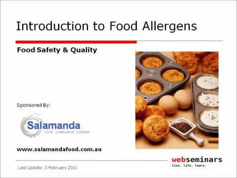 Introduction to Food Allergens