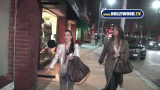 EXCLUSIVE: Kim Kardashian, Brittny Gastineau Get Nails Done