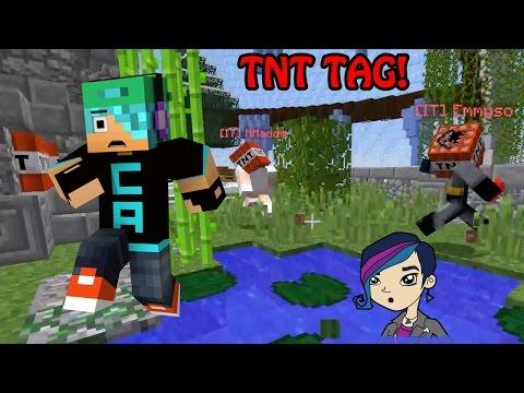 Minecraft Tnt Tag Exploding Tnt Tag Mini Game Radiojh Audrey