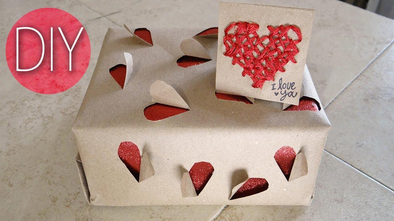 Como envolver un regalo 14 de febrero youtube - Envolver regalos de forma original ...
