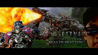 """Transformers Age of Extinction Trailer 2 """"Payoff"""" Reaction"""