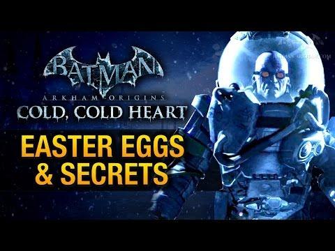 Batman: Arkham Origins - Cold, Cold Heart Easter Eggs & Secrets