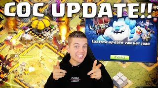 NIEUWE UPDATE + LEVEL 6 DRAKEN IN CLASH OF CLANS!! NEDERLANDS
