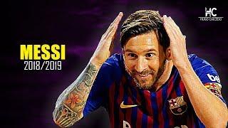 Lionel Messi  Jugadas Mgicas Pases Y Goles  201819