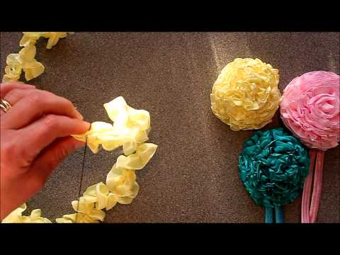 Ribbon Carnations by Crafty Ribbons Music Videos