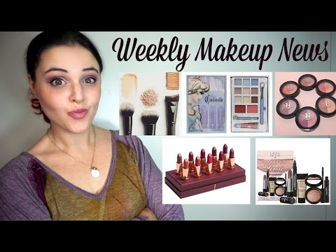 What's Up In Makeup - Makeup NEWS - Week of November 8, 2015 * Jen Luv's Reviews *