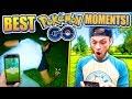 TOP 22 BEST Ali-A POKEMON GO MOMENTS ! (Pokemon GO