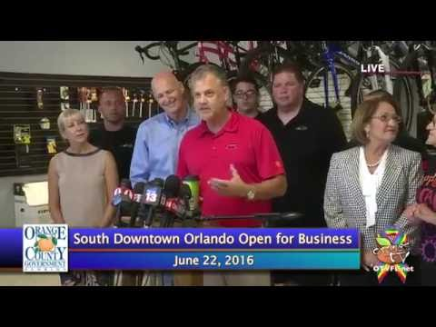 South Downtown Orlando Is Open And Ready For Business