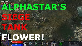 AlphaStar's MASS SIEGE TANKS!