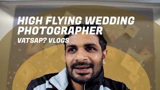 High flying wedding photographer India