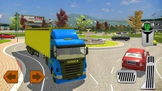 Delivery Truck Driving Simulator Android Gameplay HD 2018  #subscribe