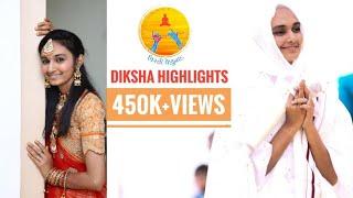 Highlights of Mumukshu Jinali Mehta's Diksha   VirtiVenunad   Jain Diksha   Manado Lago re Virti me 