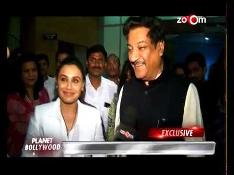 Rani Mukerji's 'Mardaani' gets praised by the Chief Minister Prithviraj Chauhan! - EXCLUSIVE