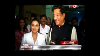 Rani Mukerji's 'Mardaani' gets praised by the Chief Minister Prithviraj Chauhan! - EXCLUSIVE
