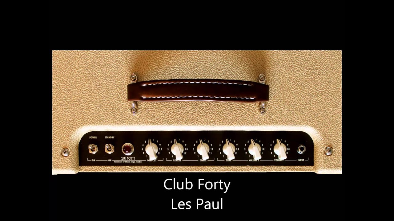 Forty Forty Club Olsson Amps Club Forty Sound