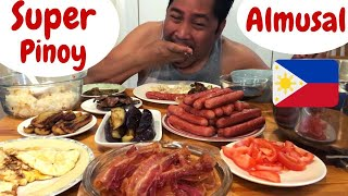 SUPER PINOY Breakfast! Pinoy almusal MUKBANG. Filipino Food.