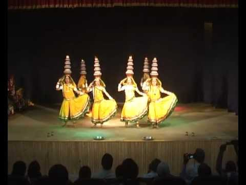 rajasthani folk dance by vanasthali vidyapeeth students-dance...