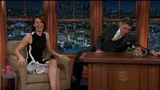 Lauren Cohan - gorgeous and funny - Ferguson interview - March 2014