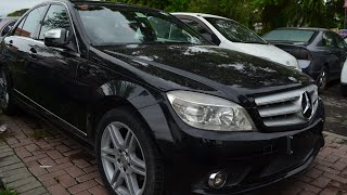 Mercedes C-Class saloon 2007 - 2011   C200 review streaming