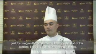 Shigeo Hirai, winner of the World Chocolate Masters 2009