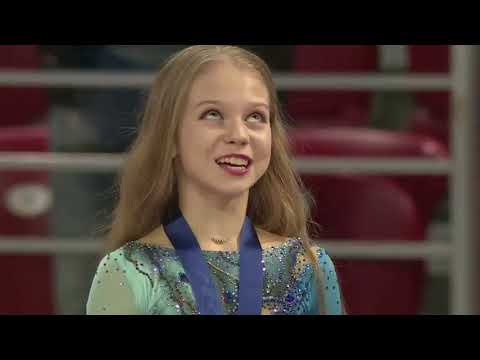Юная и дерзкая ! Александра Трусова «скрутила» рекордный сальхов и четверной тулуп