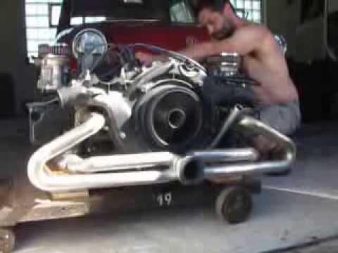 Vw Type 3 Boxer Engine Youtube