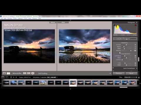การแต่งภาพ Landscape โดยใช้ Lightroom : Chanwity.com