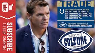Colts Pull A Highway Robbery On The Jets Accumulating Multiple Value Picks