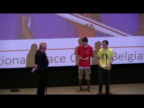 Belgium - 2014 International Space Camp Opening Ceremony
