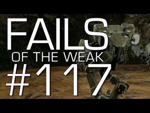 Halo 4: Fails of the Weak Volume 117! (Funny Halo Bloopers and Glitches!)