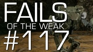 Fails of the Weak: Ep. 117 - Funny Halo 4 Bloopers and Screw Ups! | Rooster Teeth