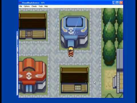 Pokemon Fire Red - MasterBall cheat