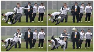 David Beckham EPIC Fall Down in CHINA !!! 23/03/2013 (fot.)