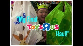 Sadly It's Time For My Final Toys R Us Toy Haul✨