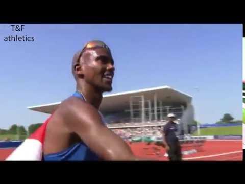 Mo FARAH 7:32.62 WL NR 3000m Men's - Birmingham Diamond League 2016