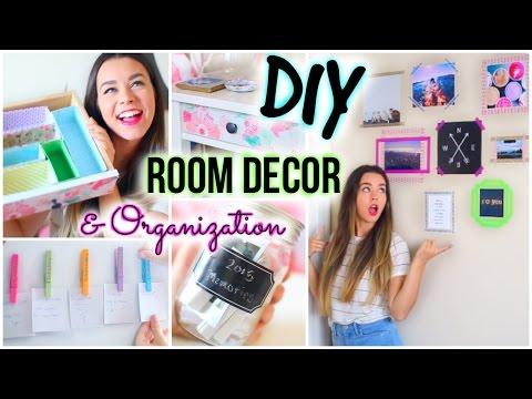 DIY Room Decor & Organization For 2015!