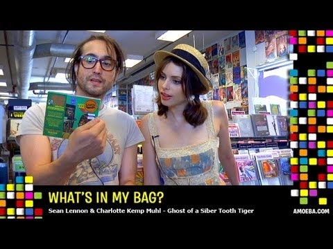 GOASTT (Sean Lennon & Charlotte Kemp Muhl) - What's In My Bag?