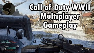 CALL OF DUTY WWII - Primeira Partida no Multiplayer! (PS4 Pro Gameplay)