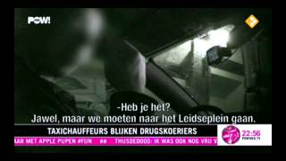 Drugs kopen in Amsterdamse taxi