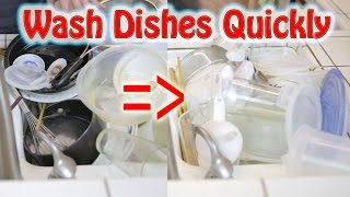 Wash Dishes Quickly: Pyramid Method | BeatTheBush