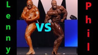Lenny vs. Phil Heath - Who Has The Biggest Gut?