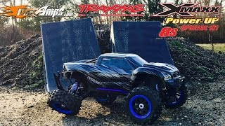 8S TRAXXAS X-MAXX -POWER UP-MAXAMPS-TORTURE TEST-MAIDEN RUN