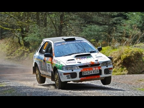 Butlins Somerset Stages 2013 - Subaru Impreza Wagon - Gary Bollands & Russell Joseph