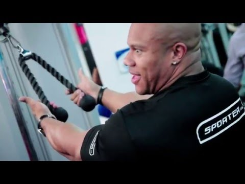 Train with Phil Heath - Back Workout