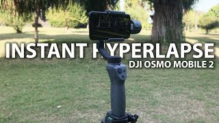 INSTANT HYPERLAPSE? | REVIEW DJI OSMO MOBILE 2 INDONESIA
