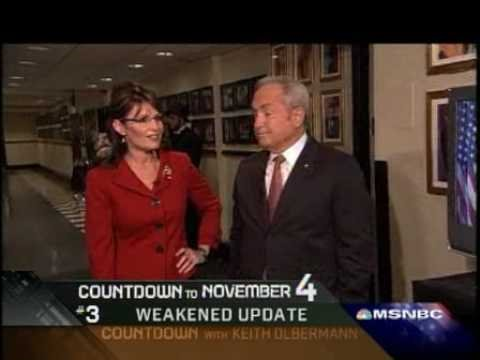 Sarah Palin on SNL Tina Fey Keith Olbermann Eugene Robinson Alec Baldwin