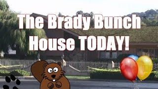 The Brady Bunch House Today!